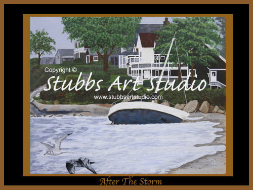 This is the enlarged image of the After The Storm Fine Art Print